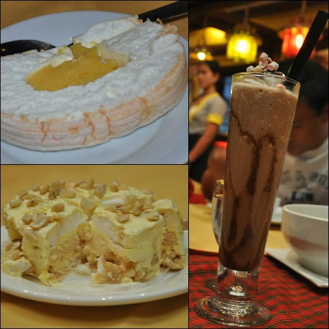 Desserts at Balai Gloria
