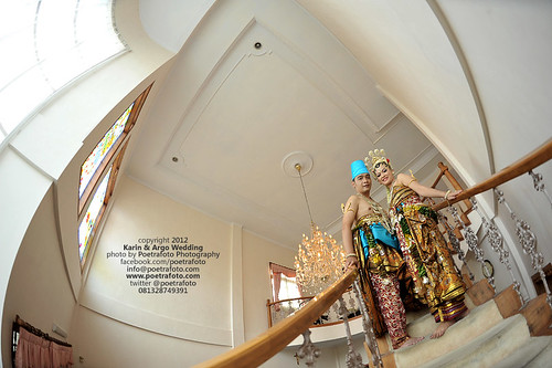 Foto Pernikahan with Fisheye Lens by Wedding Photographer Indonesia by POETRAFOTO - Fotografer Yogyakarta Indonesia
