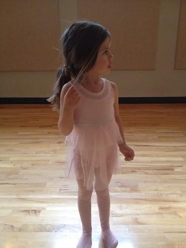 first ballet class by telfandrea