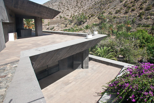 Brutalist struture at Vallehermoso