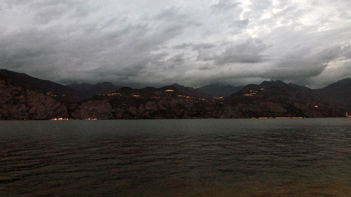 Campione, Tremosine under a rainy sky