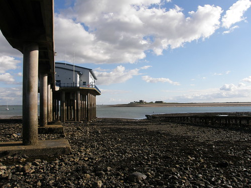 Roa Island lifeboat station and Piel Island