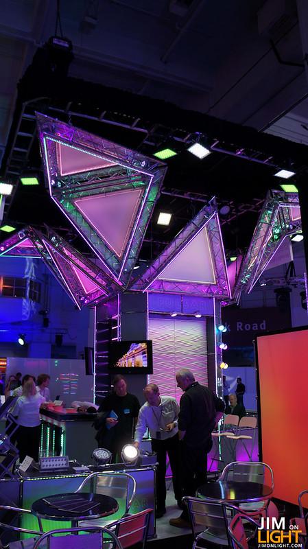 Pulsar's awesome booth at PLASA 2012