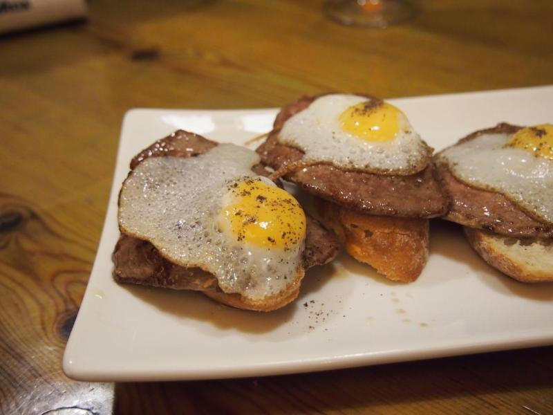Steak & Egg Tapas