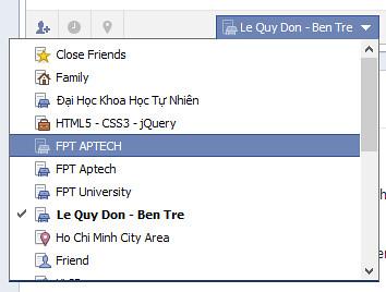 Facebook - Giới hạn đối tượng xem thông tin cá nhân