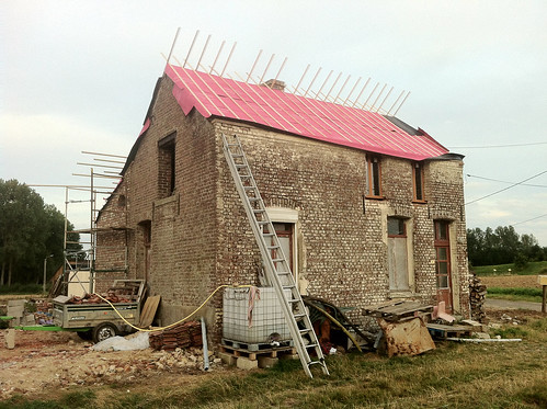 Lattage, face ouest