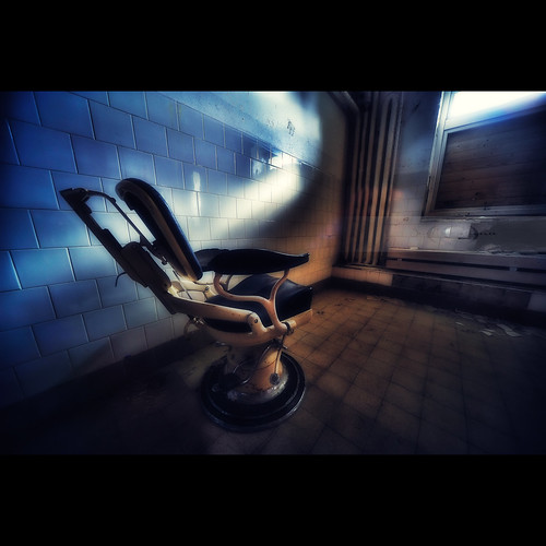 The Old Barber Chair by geirkristiansen.net