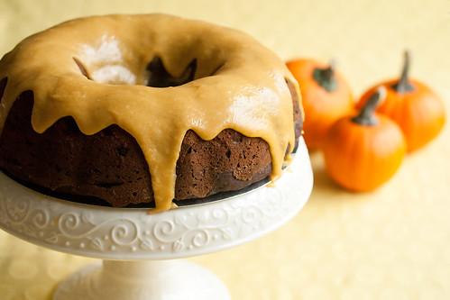 Chocolate Pumpkin Spice Bundt