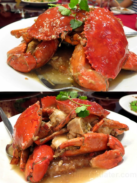 Annapolis Seafood Palace- taro crab P1,680 (3 pcs.)