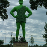 Jolly Green Giant, Blue Earth MN