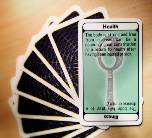 Day 286 of Project 365: Turning the Health Card