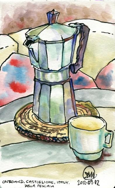 Espresso time by David Meldrum