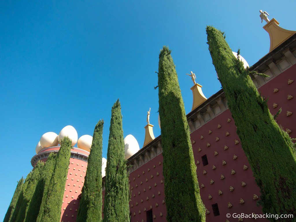 The Salvador Dalí Museum in Figueres