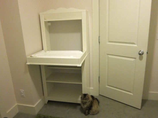 Changing Table (+ Cat)