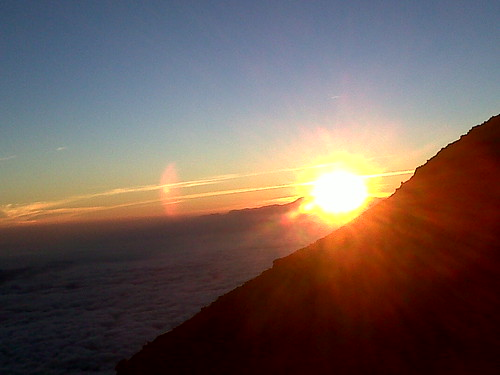 Sunrise at Mahameru