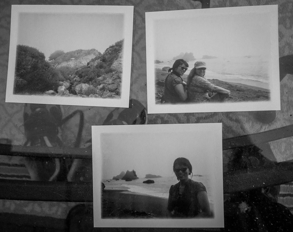 Some beach Polaroids
