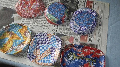 Origami Dishes