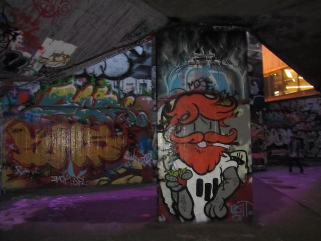 Southbank street art