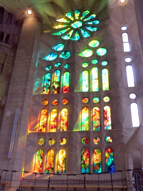 Red Window, Sagrada Familia