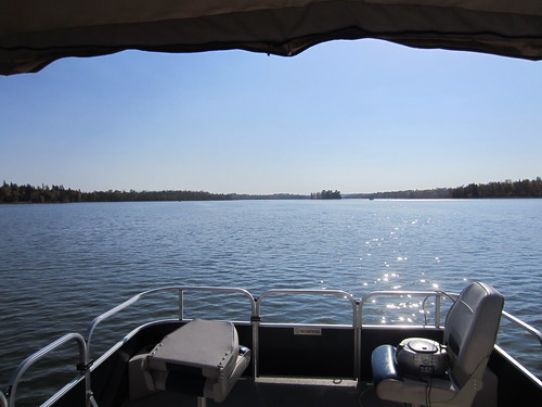 from our pontoon, mcfloaty