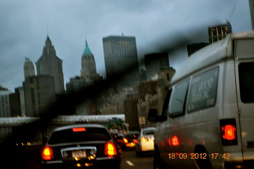 Traveling through Manhatten, NY