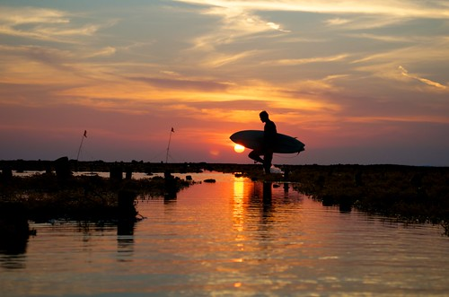 Sunsets in Lembongan island (Bali) by Arnaldo Pellini