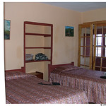 Our hostel room in Cusco