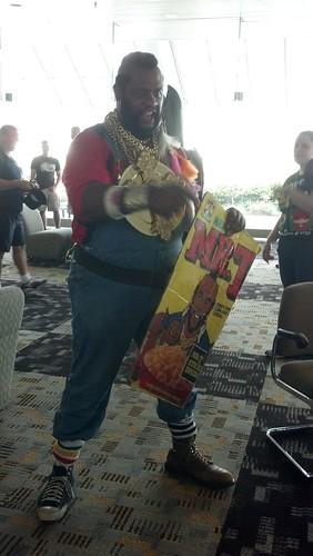 Mr. T at Baltimore Comic-Con