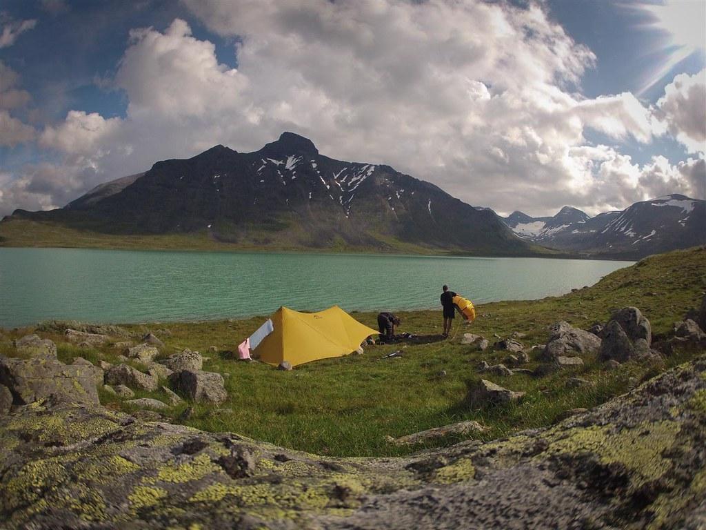 Bieik Jarve, Sarek NP, Laponia, Sweden