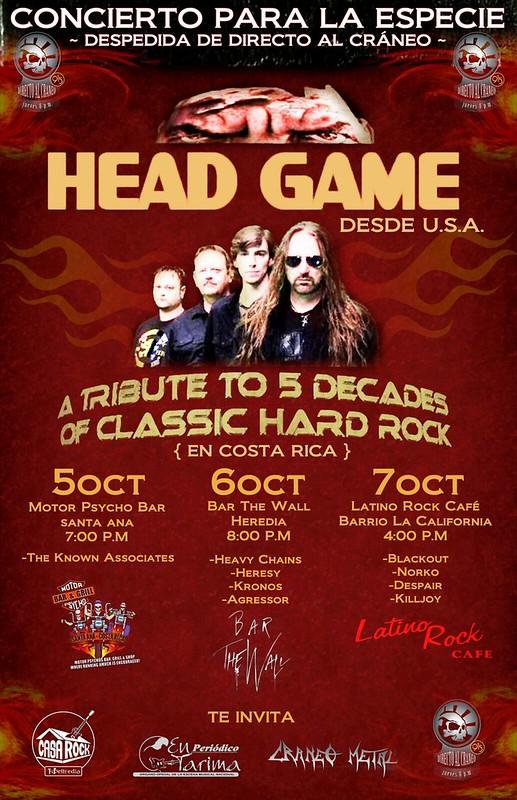 Head Game Tour