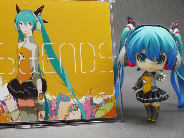 Custom Nendoroid Hatsune Miku: ODDS&ENDS version