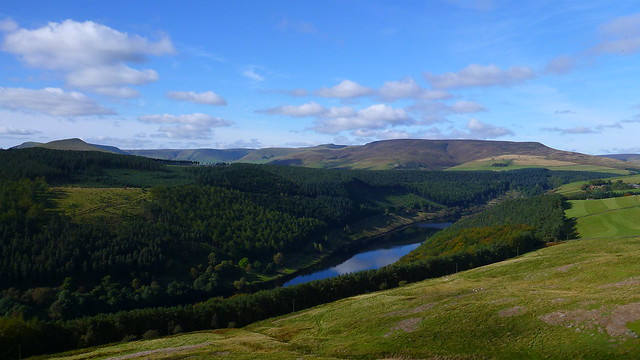 Kinder, Edale, Ladybower Reservoir