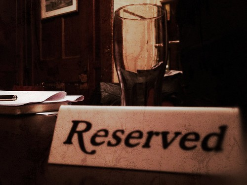 Day 288 of Project 365: Reserved