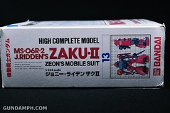HCM MS-06R-2 Johnny Ridden's Zaku-II (144 scale) 1984 make (8)