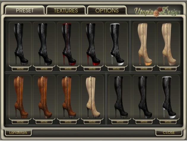 Utopia Shoe HUD 1