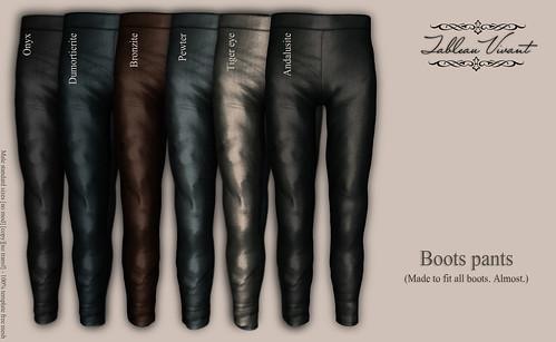 ~Tableau Vivant~ - Boots pants-AD2