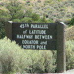 45th Parallel, Wyoming