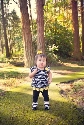 """Kaitlyn Walking in the """"Woods"""""""