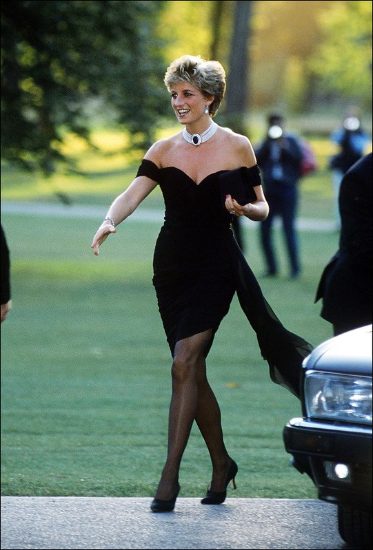 Princess Diana. Why black is considered elegant?