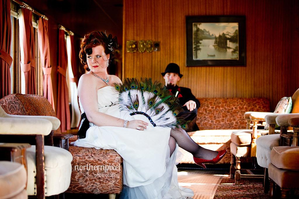 Naomi & Matt 1920's Themed Wedding - PG Railway Museum