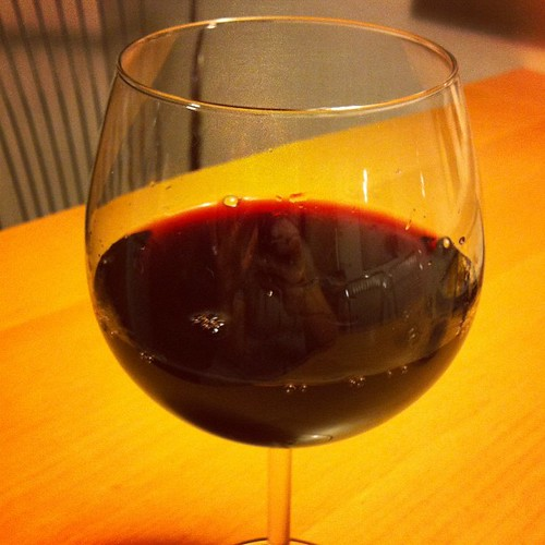 Redwine time. Happy Friday.