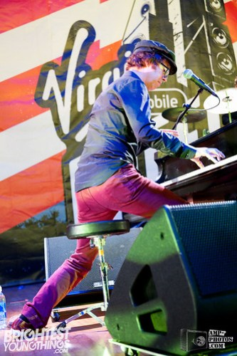 Ben Folds Five plays Virgin Freefest '12