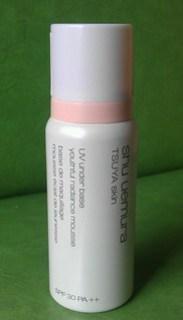 Shu Uemura Tsuya Skin UV Under base Youthful Radiance Mousse