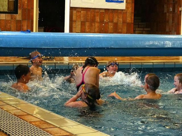 Annika's baptism as a coach
