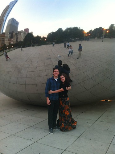 In front of the Bean :)