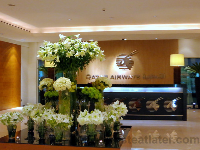 Qatar Airways Business Class Lounge at Doha International Airport-004