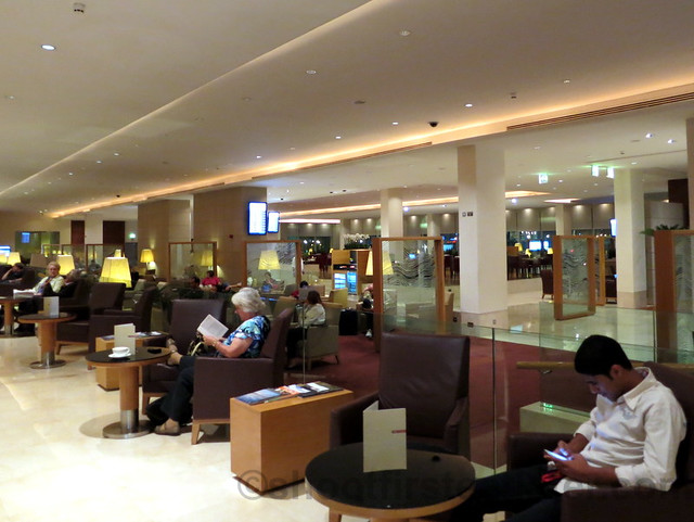 Qatar Airways Business Class Lounge at Doha International Airport-007
