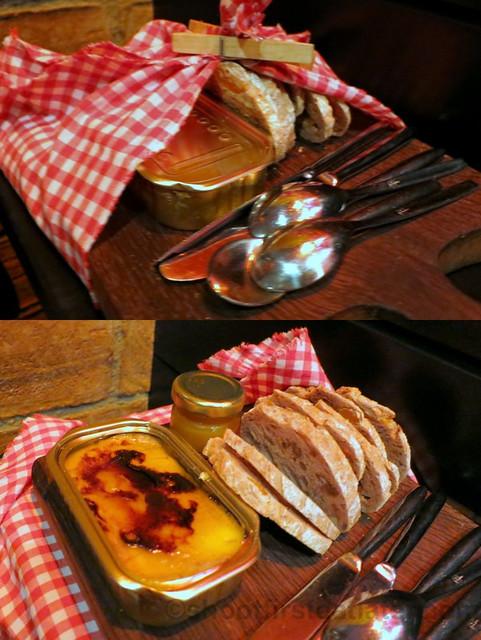 A Fuego Negro Bar- foie snack