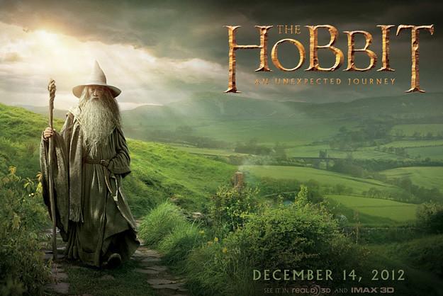 The Hobbit: An Unexpected Journey - Gandalf y Hobbits