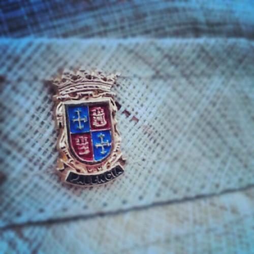 El pin de Palencia de mi sombrero